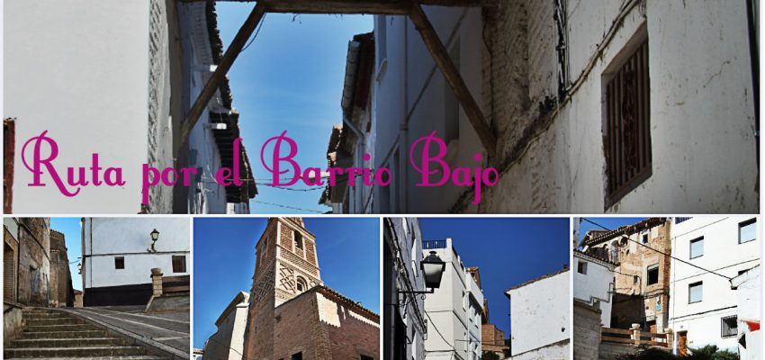 Paseo por el Barrio Bajo de Monteagudo