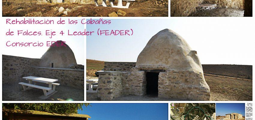 Senderismo, paisaje y la rehabilitación de cabañas en Falces. Eje 4 Leader (FEADER)