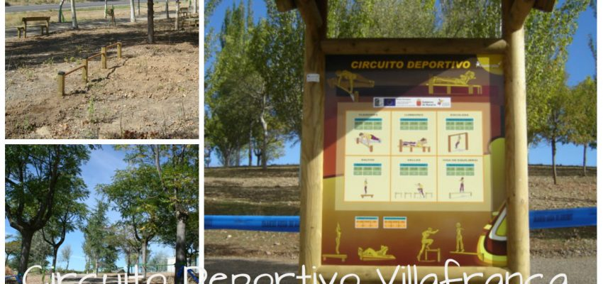 Villafranca, tiene un nuevo circuito deportivo recreativo. Eje 4 Leader