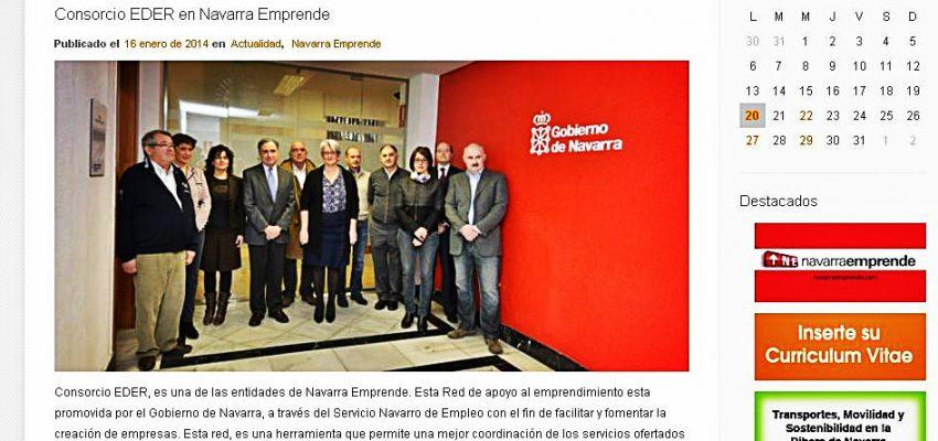 Navarra emprende en nuestra web