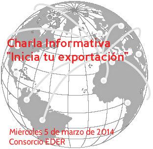 Charla Informativa «Inicia tu exportación»