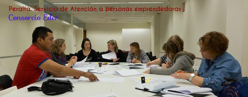 El servicio de atención a personas emprendedoras en Peralta