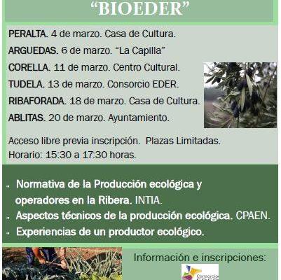 Jornadas de Difusión sobre Agricultura Ecológica «BIOEDER»