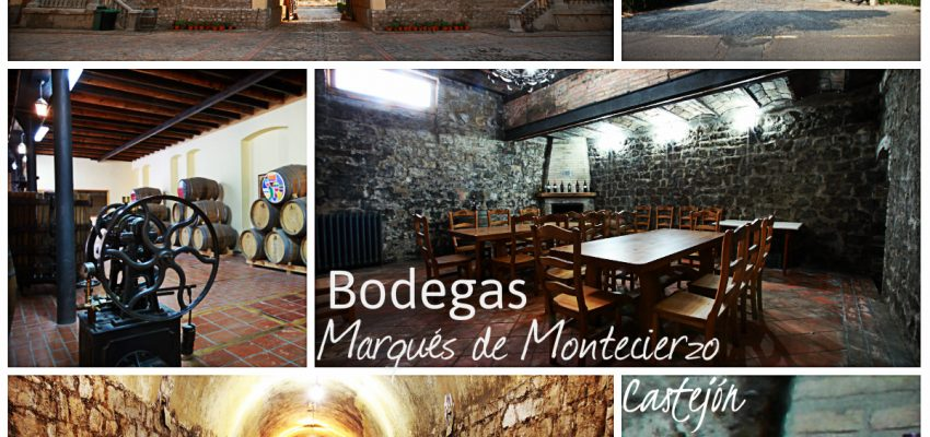 Bodegas Marqués de Montecierzo en Castejón; Enoturismo en la Ribera de Navarra