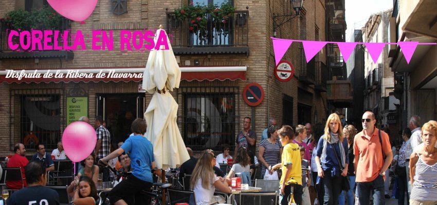 Corella en Rosa¡¡¡ Fiesta del Vino Rosado de Navarra del 22 al 24 de Agosto.