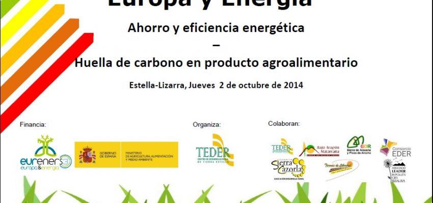 Jornada EURENERS 3. Europa y Energía. Estella, jueves 2 de octubre 2014.