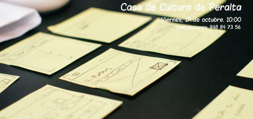 Taller de Creatividad en la Casa de Cultura de Peralta. Viernes 17 de octubre de 2014.