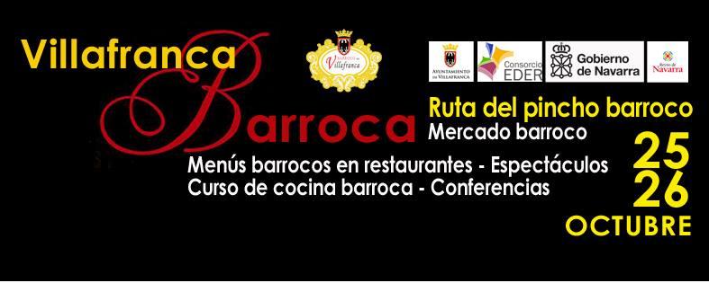Villafranca Barroca 2014. 25 y 26 de octubre.