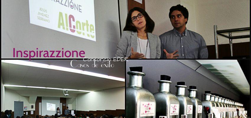 Inspirazzione en el aula. La joven emprendedora cuenta su experiencia en el CIP ETI de Tudela