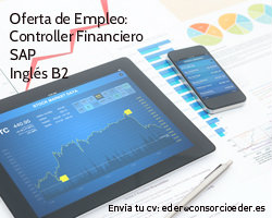 Oferta de Empleo en la Ribera de Navarra. Controller Financiero