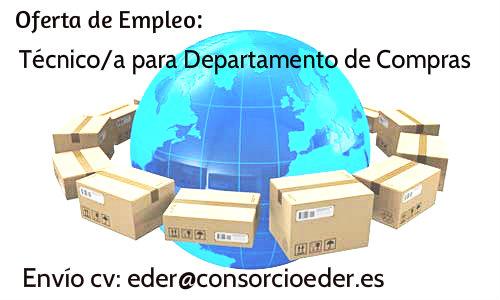 Oferta de Empleo en la Ribera de Navarra: Técnico/a para Departamento de Compras