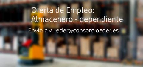 Oferta de empleo en la Ribera de Navarra: Almacenero – dependiente