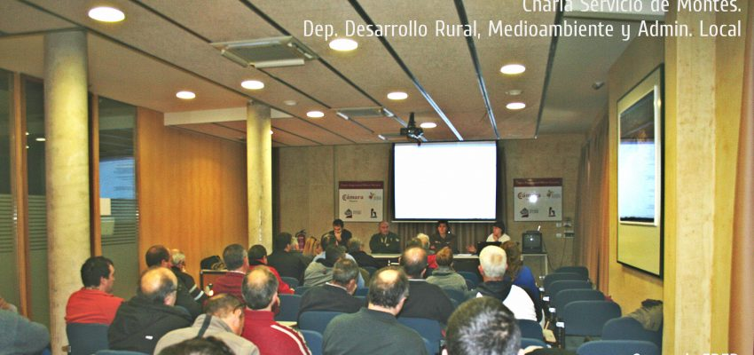 Charla: «Quema de acequias y desagües en terrenos de regadío y secano en la zona sur de Navarra»