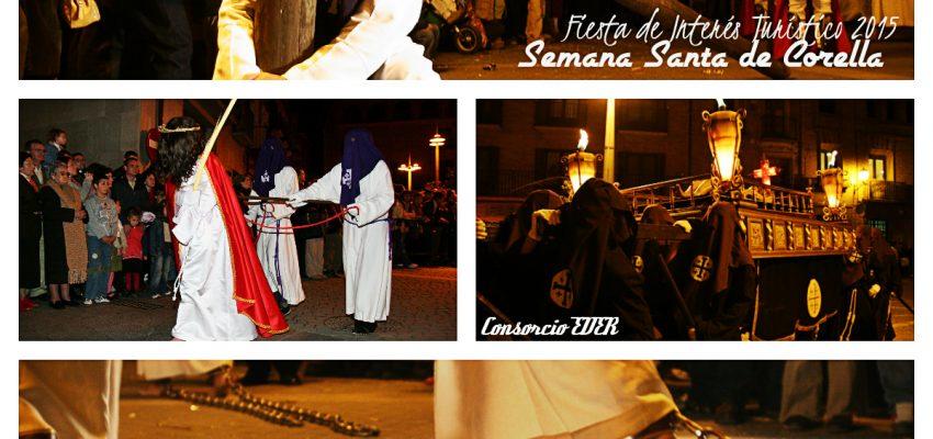 Semana Santa de Corella; Fiesta de Interés Turístico de Navarra 2015