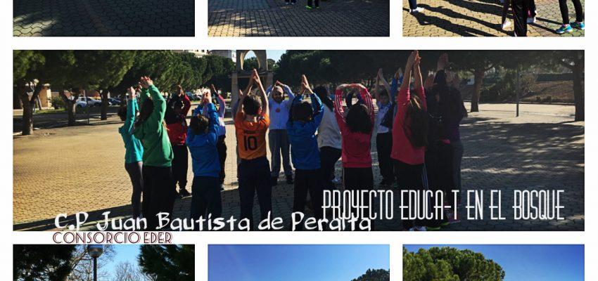El proyecto EDUCAT en el Bosque en Peralta