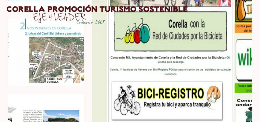Corella, Promoción del Turismo Sostenible