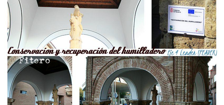 Conservación y Recuperación del humilladero de Fitero. Eje 4 Leader (FEADER).