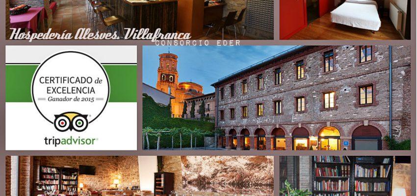 La Hospedería de Villafranca, premio a la excelencia.