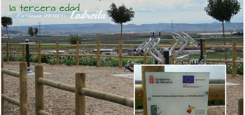 Parque Biosaludable para la tercera edad en Cadreita.