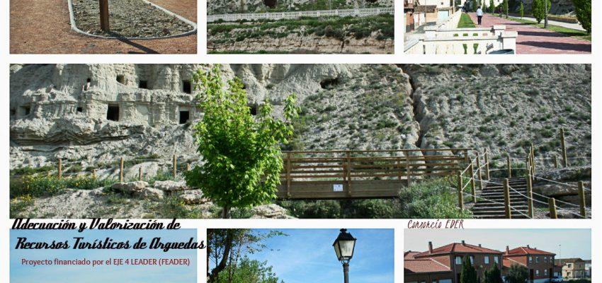 Finalizado el proyecto de Adecuación y Valorización de las Cuevas de Arguedas.