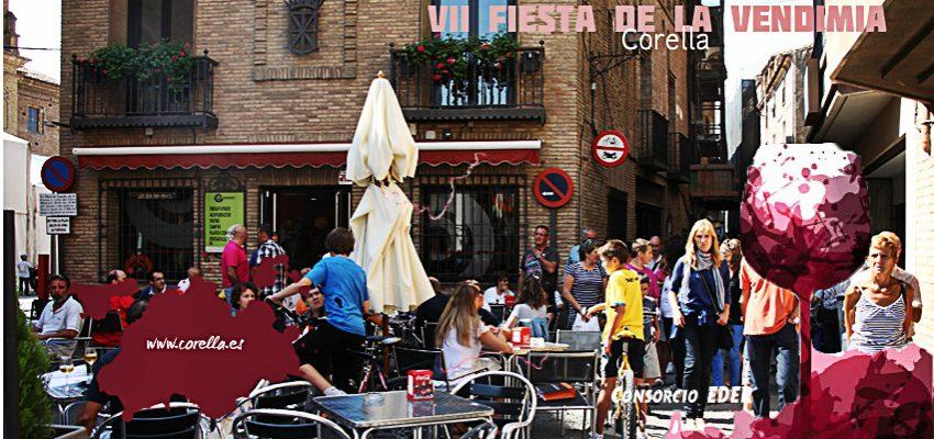 Corella celebra la VII Edición de la Fiesta de la Vendimia