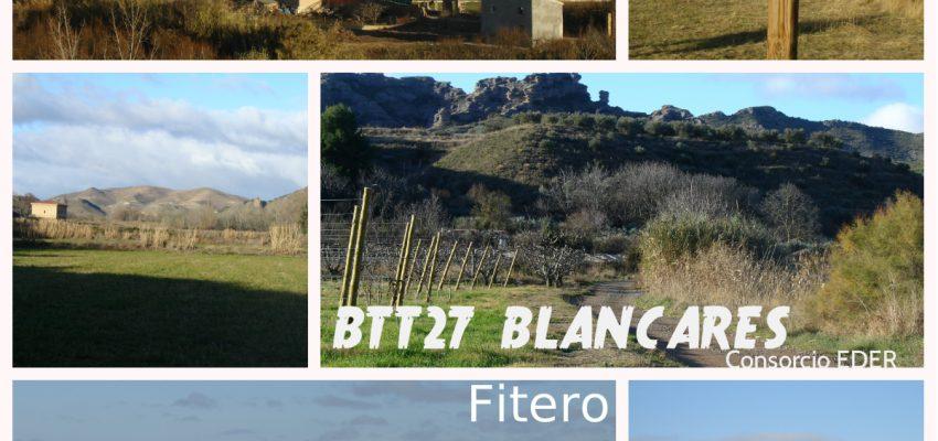 LOS BLANCARES EN FITERO, NUEVA RUTA EN BTT