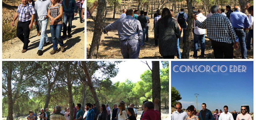 Representantes del territorio Campoo de los Valles (Cantabria) visitaron diferentes municipios de la Ribera de Navarra.