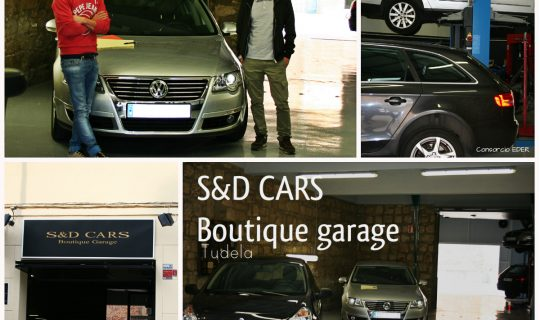 S&D Cars Boutique Garage en Tudela; Un taller diferente