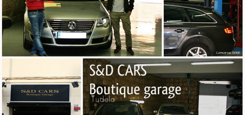 S&D Cars Boutique Garage en Tudela; Un taller diferente