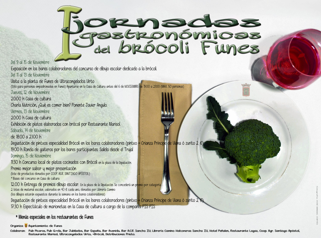 cartel brócoli