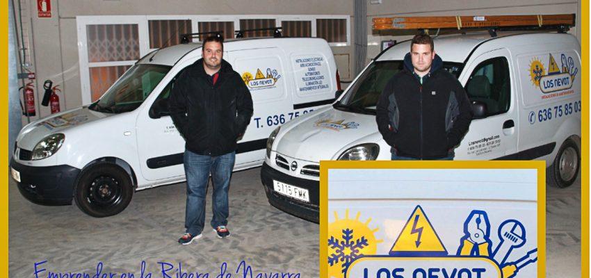 Instalaciones y Mantenimientos LOS NEVOT; Emprender en la Ribera de Navarra