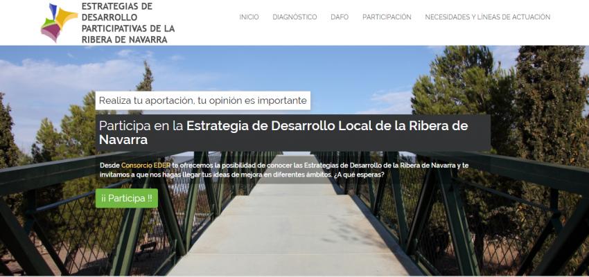 JORNADAS PARTICIPACIÓN ESTRATEGIA DE DESARROLLO LOCAL RIBERA DE NAVARRA 2016-2020