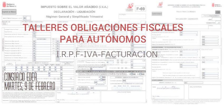 Formación para personas emprendedoras: Talleres obligaciones fiscales