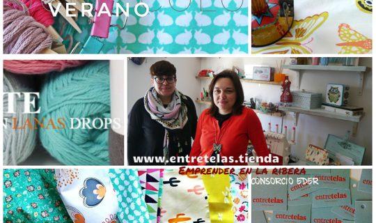 Entre telas, lanas, bordados…. Tu nueva tienda on-line (www.entretelas.tienda) desde Corella.