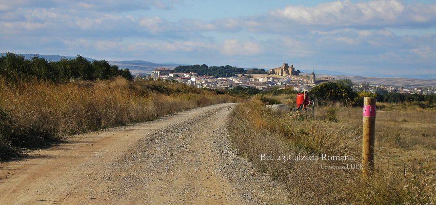 Ruta en BTT por la Calzada Romana o Via de Italia in Hispanias