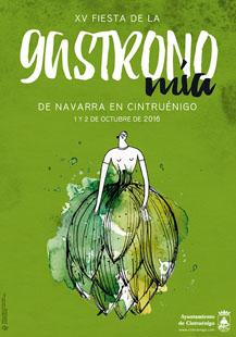 XV Fiesta de la Gastronomía Navarra. Cintruénigo, 1 y 2 de octubre 2016.
