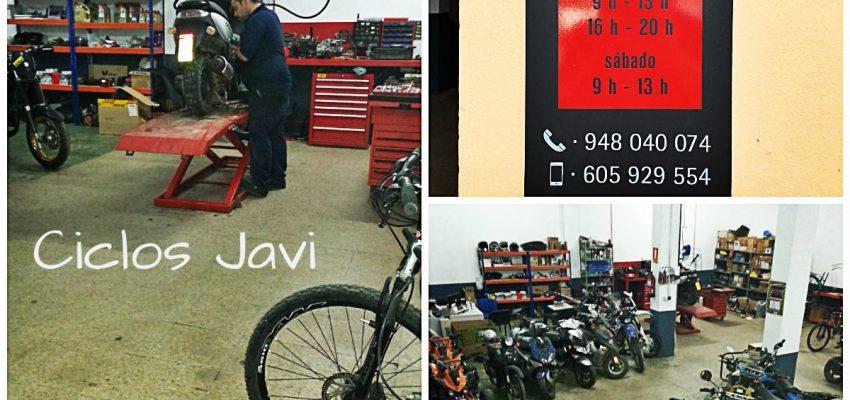 Personas emprendedoras: Ciclos Javi, nuevo taller de motos en Corella.