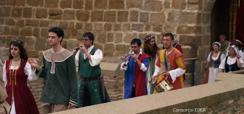 Un fin de semana medieval en Marcilla.