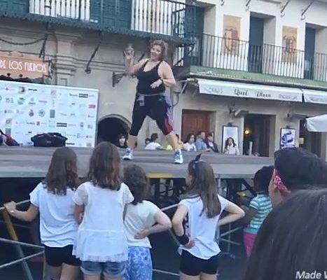 Os presentamos a María Ángeles Barcos, instructora de actividades deportivas