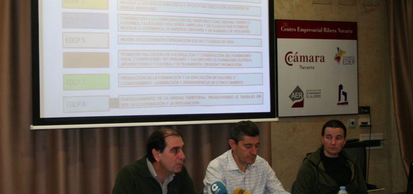 El Consorcio EDER presenta la 1ª Convocatoria de Ayudas para la Ribera de Navarra LEADER del PDR 2014-2020.