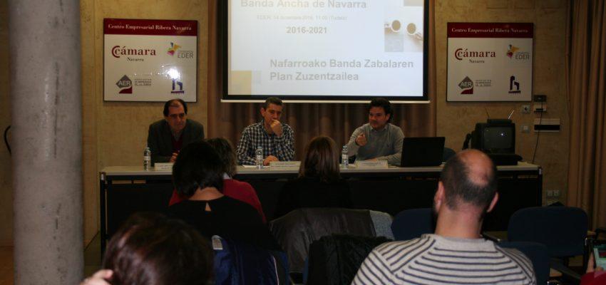 Jornada Territorial Plan Director de Banda Ancha de Navarra Horizonte 2021