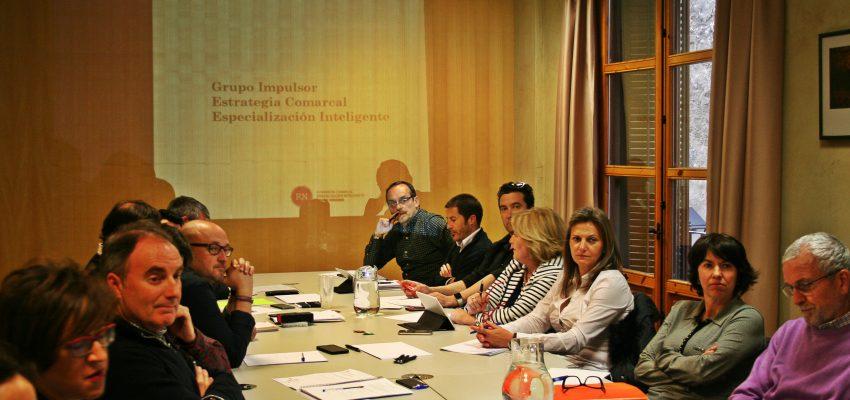 Comienzan las reuniones de trabajo del GRUPO IMPULSOR para la elaboración de la ESTRATEGIA COMARCAL DE ESPECIALIZACIÓN INTELIGENTE DE LA RIBERA NAVARRA (ECEI)