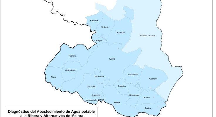 Presentación del Diagnóstico del abastecimiento de agua para uso urbano e industrial en la Ribera de Navarra