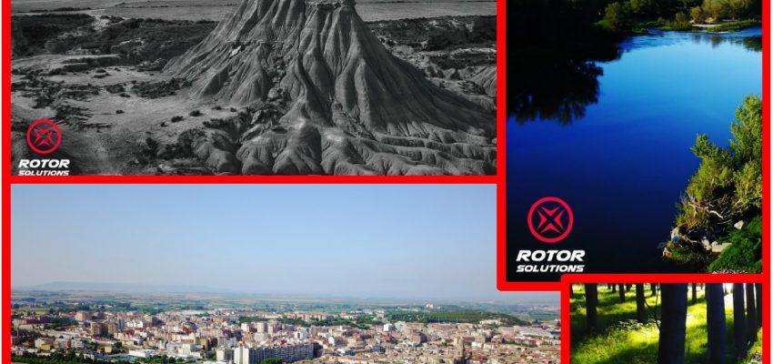 Rotor Solutions, nueva empresa de servicios con drones en la Ribera de Navarra