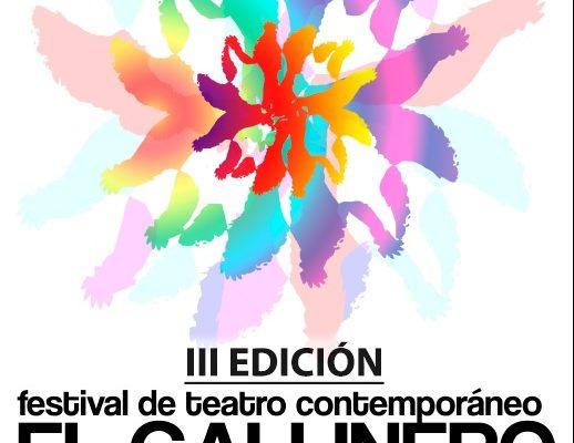 III Edición del Festival de Teatro Contemporáneo «El Gallinero». Cabanillas, 1, 2 y 3 de septiembre 2017.