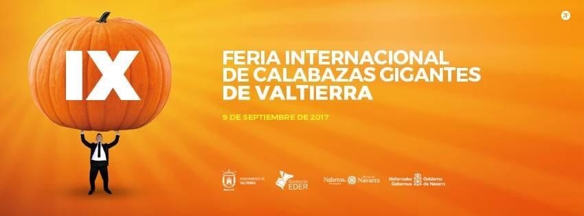 IX Feria Internacional de Calabazas Gigantes de Valtierra. 9 septiembre de 2017.