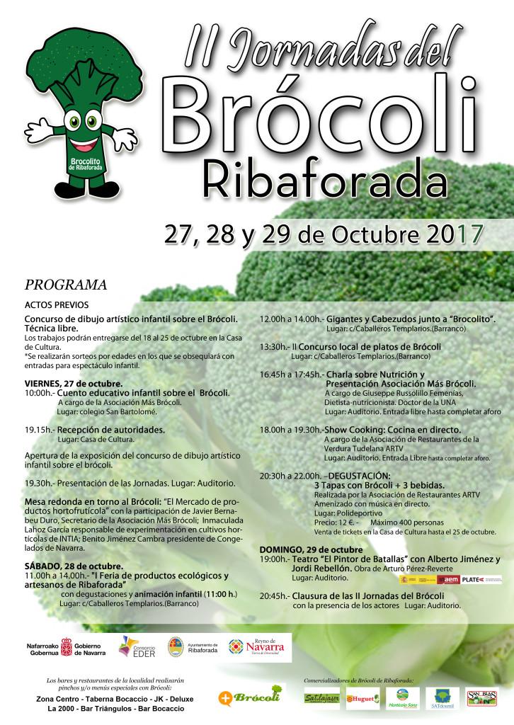 II Jornadas del brocoli Cartel