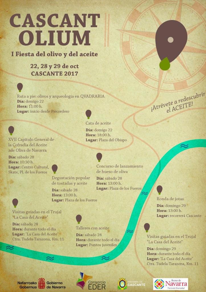cartel Cascantolium con programa