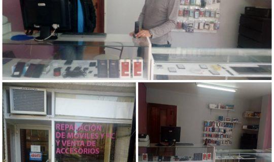 Nueva tienda de reparación de móviles y ordenadores