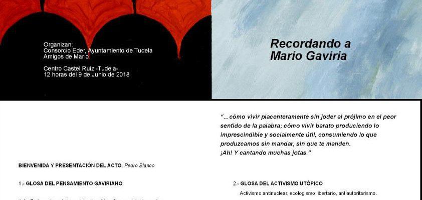 Recordando a Mario Gaviria
